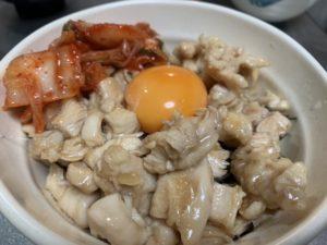 【男料理】 火すら使わない簡単ドチャクソウマ鶏胸ユッケ丼